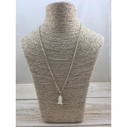 Collier poisson en nacre